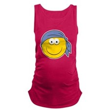 smiley23.png Maternity Tank Top