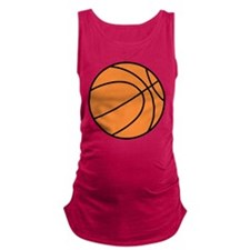 basketball belly.png Maternity Tank Top