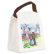 Sam and Dean Motel Canvas Lunch Bag
