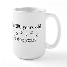 40 birthday dog years 4-2 Mug