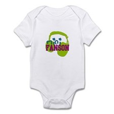 Mini Fanson Infant Bodysuit