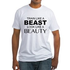 Train Like A Beast Look Like A Beauty Shirt