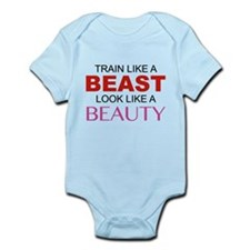 Train Like A Beast Look Like A Beauty Onesie