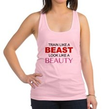 Train Like A Beast Look Like A Beauty Racerback Ta