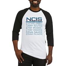 NCIS Logo & Characters Names Baseball Jersey
