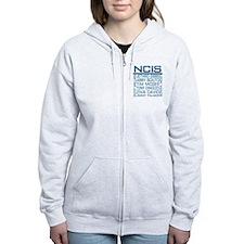 NCIS Logo & Characters Names Zip Hoodie