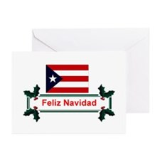 PuertoRico Feliz Navidad Greeting Cards (Pk 10)