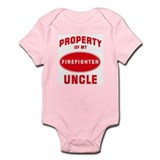 UNCLE Firefighter-Property Infant Bodysuit