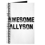 Awesome Allyson Journal