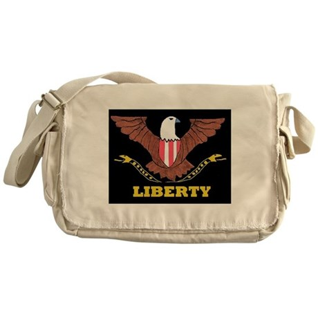 Liberty Tree Messenger Bag