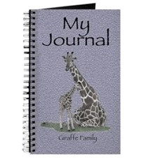 Giraffe Family Personal Journal