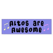 Altos Music Bumper Bumper Sticker