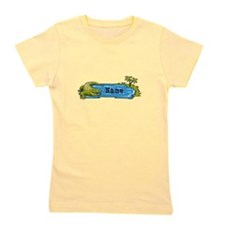 Personalized Alligator Girl's Tee