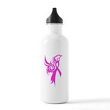 Phoenix in Pink Water Bottle