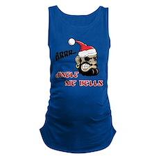 Santa Pirate Maternity Tank Top