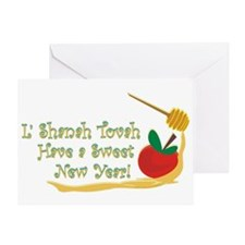 L Shanah Tovah /blank/Greeting Card