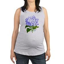 Hydrangea Maternity Tank Top