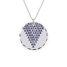 Abracadabra (dark inverted p Necklace