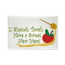 L Shanah Tovah Rectangle Magnet (10 pack)