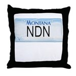 Montana NDN Pride Throw Pillow