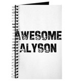 Awesome Alyson Journal