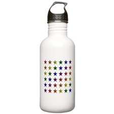 Pride Star Square Water Bottle