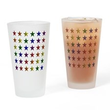 Pride Star Square Drinking Glass