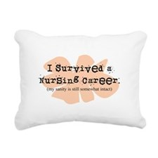 Retired Nurse FUNNY Rectangular Canvas Pillow