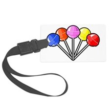 colorful lollipops Luggage Tag