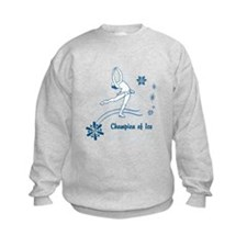 Personalized Ice Skater Sweatshirt