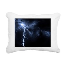 Lightning Rectangular Canvas Pillow