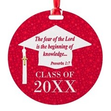 Christian Graduate Ornament