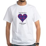 Heart - MacGregor of Glengyle White T-Shirt