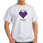 Heart - MacGregor of Glengyle Light T-Shirt