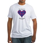 Heart - MacGregor of Glengyle Fitted T-Shirt