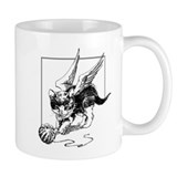 Kitten with Wings Mug