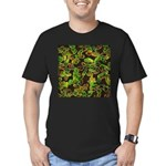 Lovely Germs - Men's Fitted T-Shirt (dark)