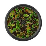 Lovely Germs - Large Wall Clock
