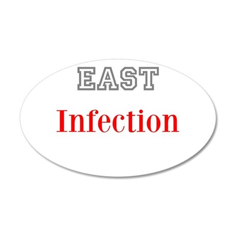 East Infection Wall Decal