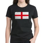 England English Women's Black T-Shirt