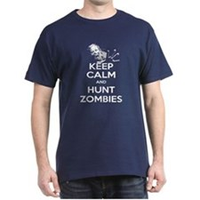 Keep Calm and Hunt Zombies T-Shirt