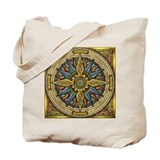 Celtic Compass Tote Bag