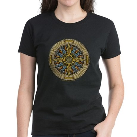 Celtic Compass Women's Dark T-Shirt