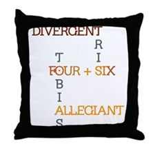 Divergent, Insurgent, Allegiant Throw Pillow