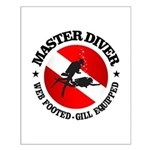 Master Diver (Round) Posters