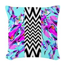 Mix #425 Woven Throw Pillow