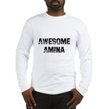 Awesome Amina Long Sleeve T-Shirt
