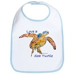 LOVE A SEATurtle Bib