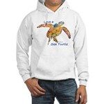 LOVE A SEATurtle Hooded Sweatshirt