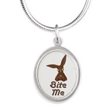 Bite Me Easter Chocolate Bunny Necklaces